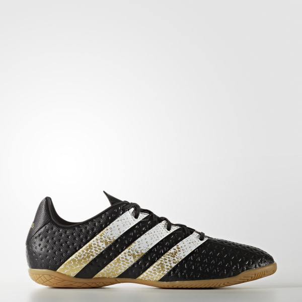 23a2204abb0 Calzado Fútbol Ace 16.4 bajo techo CORE BLACK   FTWR WHITE   GOLD MET.  S76701