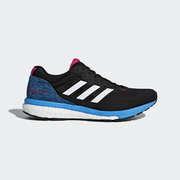 super popular 10879 eb482 Adizero Boston 7 Shoes Core Black   Cloud White   Real Magenta BB6501