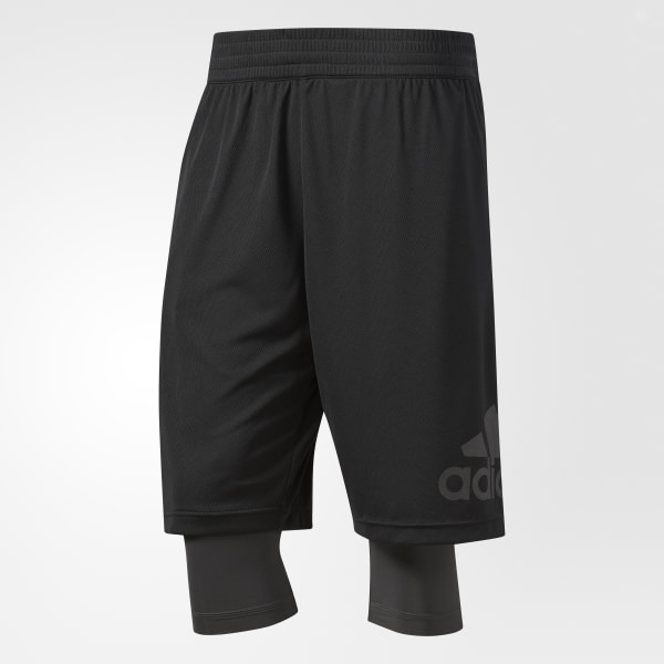 new concept b840b 56663 Mens Dame Foundation Two-in-One Shorts