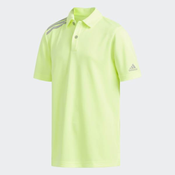 5b6b850dcbaf adidas 3-Stripes Tournament Polo Shirt - Yellow