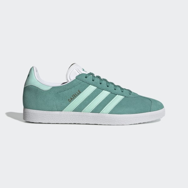 competitive price 35554 21ee3 Gazelle Shoes True Green   Clear Mint   Cloud White BD7497