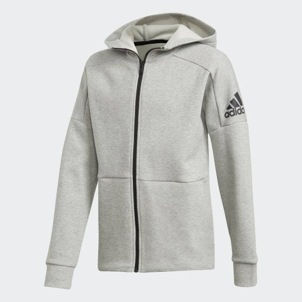 adidas ID Stadium Hoodie - Grey  20ac539e0b2