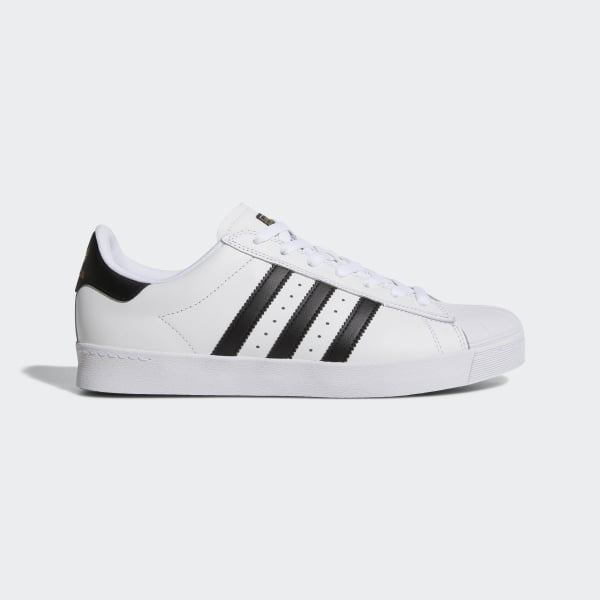 adidas Superstar Vulc ADV Shoes - White |