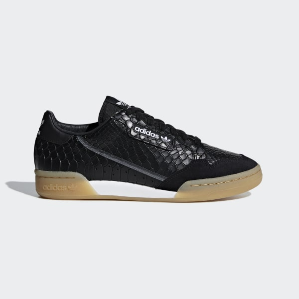 8298452111f7f adidas Continental 80 Shoes - Black