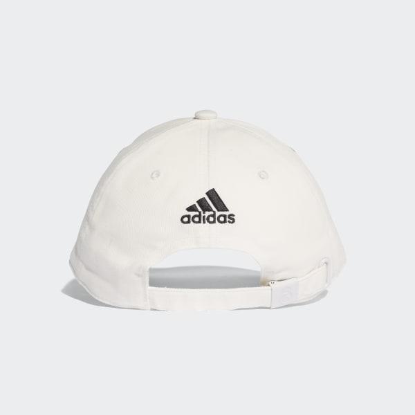 fab42afb36f Real Madrid 3-Stripes Hat Core White   Black CY5600
