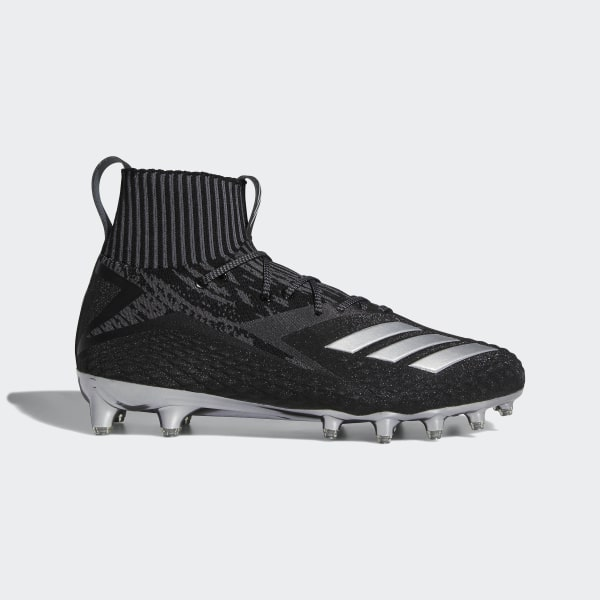 new arrival df748 f5734 Freak Ultra Primeknit Cleats Core Black  Silver Metallic  Grey B27967