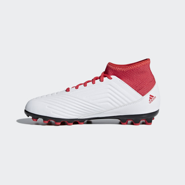 9f757973e537 Predator 18.3 Artificial Grass Boots Ftwr White   Core Black   Real Coral  CP9020