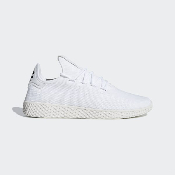 Pharrell Williams Tennis Hu Shoes Cloud White   Cloud White   Chalk White  B41792 37ab9b1eb