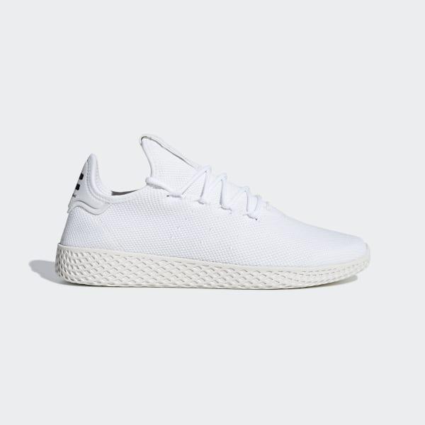 free shipping d1498 09b45 Zapatilla Pharrell Williams Tennis Hu Ftwr White   Ftwr White   Chalk White  B41792
