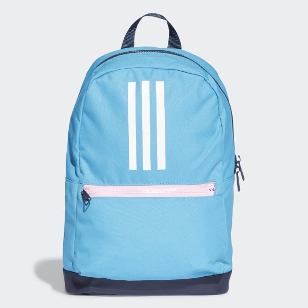 ec9dc1a87a5d 3-Stripes Backpack Blue   Collegiate Navy   White DW4763