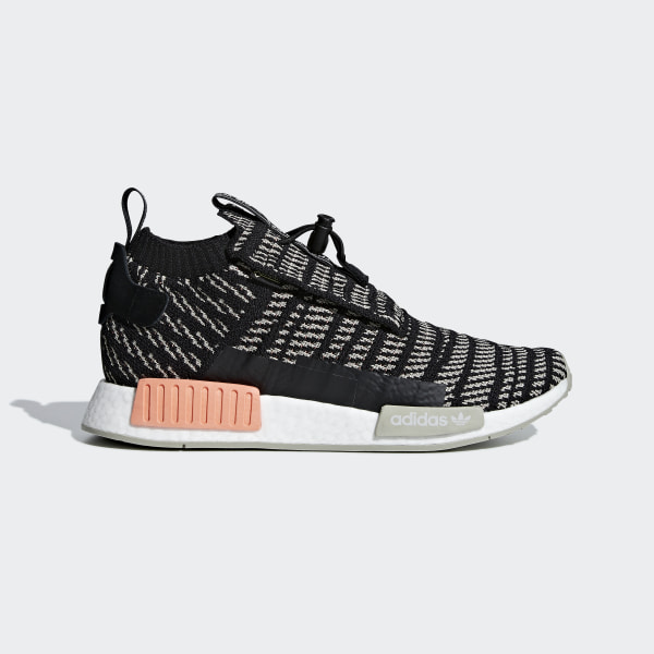 0dc05247585 NMD TS1 Primeknit GTX Shoes Core Black   Sesame   Chalk Coral BB9176