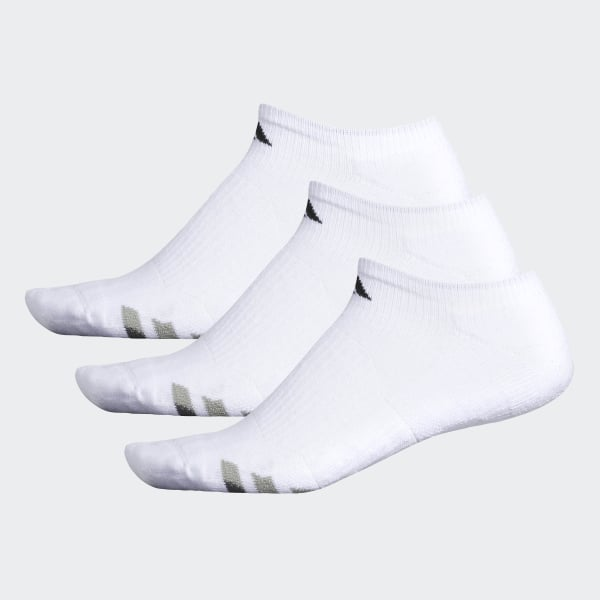 6fd3f5a20 Cushioned No-Show Socks 3 Pairs White   Black   Granite H77465