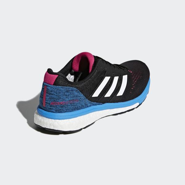 Adizero Boston 7 Shoes Core Black   Cloud White   Real Magenta BB6501 6e5a15713