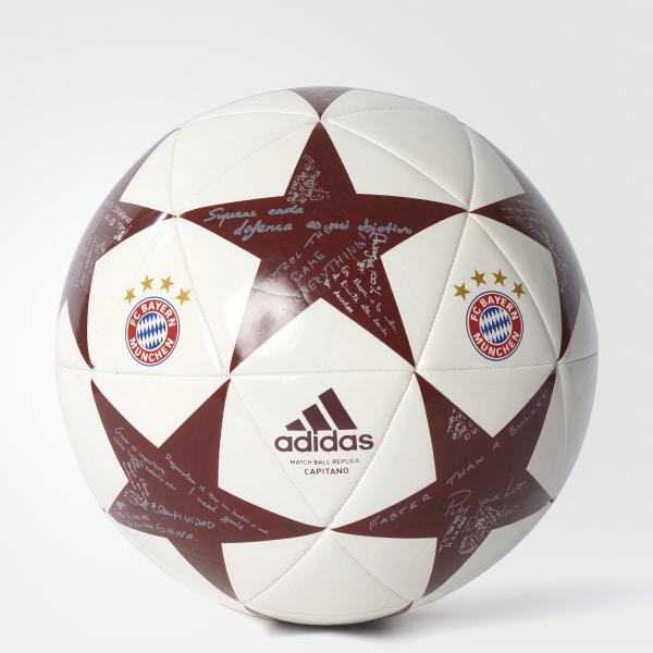 6a280b9732 adidas Finale 16 FC Bayern Munchen Ball - White