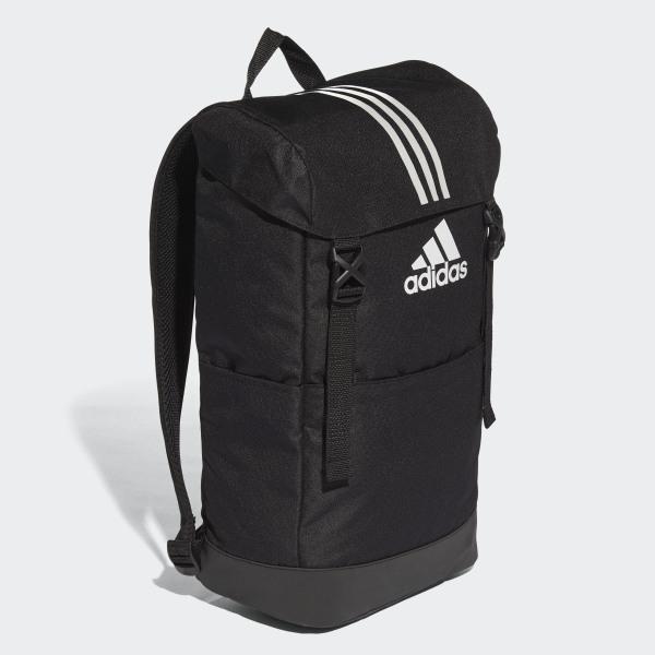 c0df945c9241 3-Stripes Backpack Black   White   White CF3290
