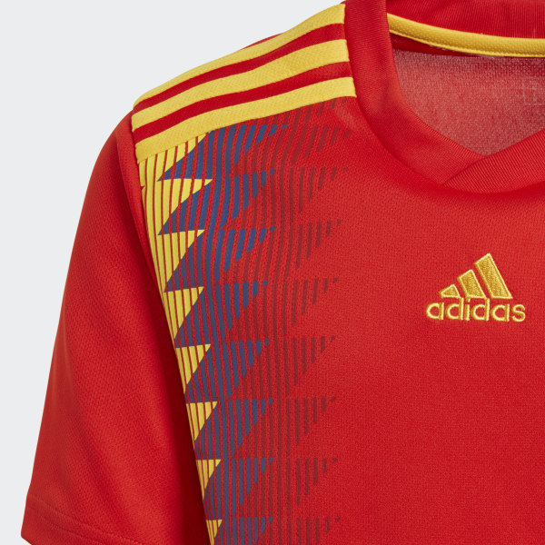 Spain Home Jersey Red Bold Gold BR2713 97ebc75dd