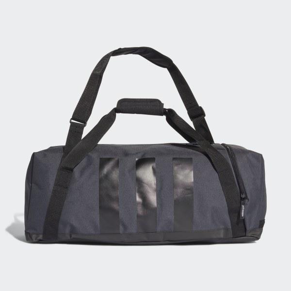 6a2639b9ccb2 3-Stripes Medium Duffel Bag. C  70. Color  Grey   Black   Scarlet