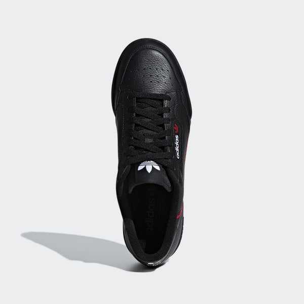 official photos 1d89e a1b8d Continental 80 Shoes Core Black  Scarlet  Collegiate Navy G27707
