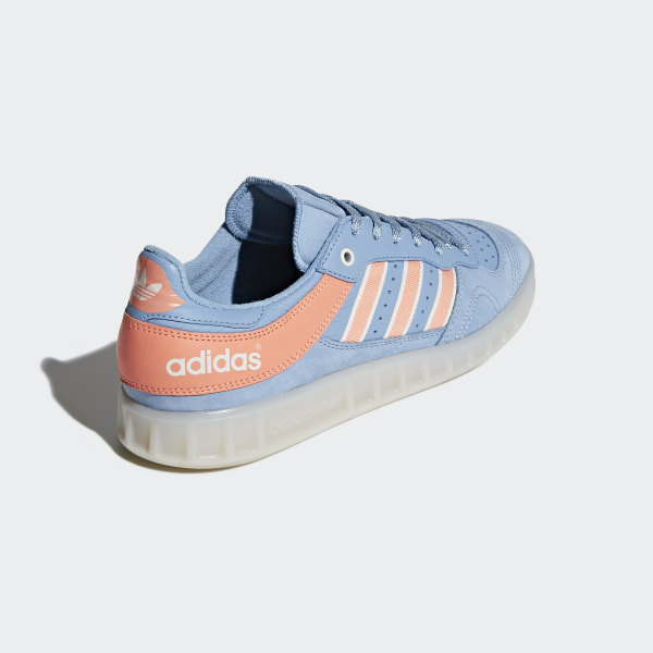 low priced 34f6f dcd17 Oyster Holdings Handball Top Shoes Ash Blue  Chalk Coral  Chalk White  DB1978