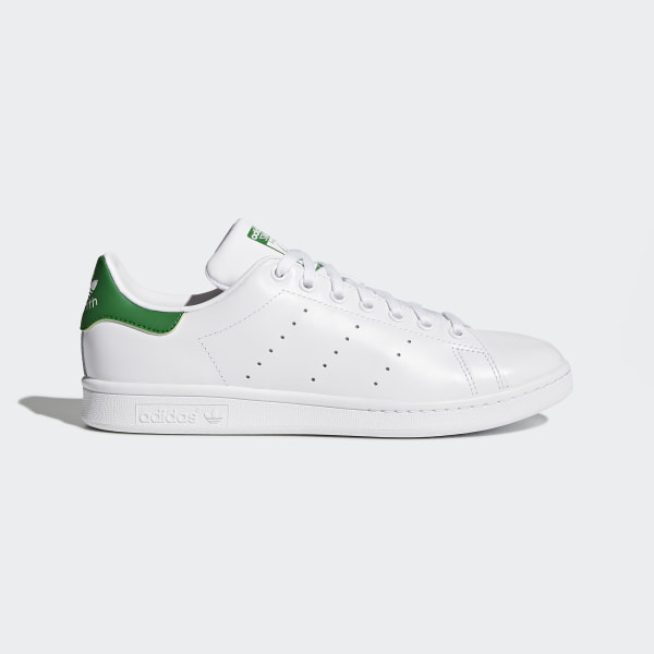 544b1dab83cc83 Stan Smith Shoes Cloud White   Core White   Green M20324. Share how you  wear it.  adidas