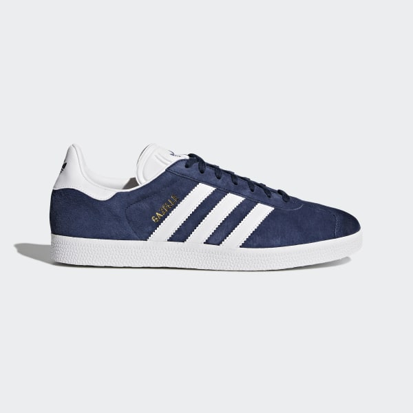 free shipping 4c715 3bf4f Gazelle Shoes Collegiate Navy White Gold Metallic BB5478