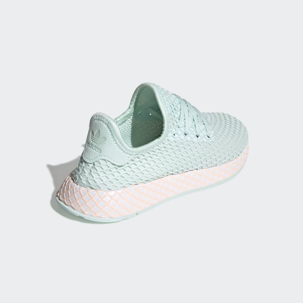 40bf0feec841 Deerupt Runner Shoes Turquoise   Ftwr White   Clear Orange CG6841
