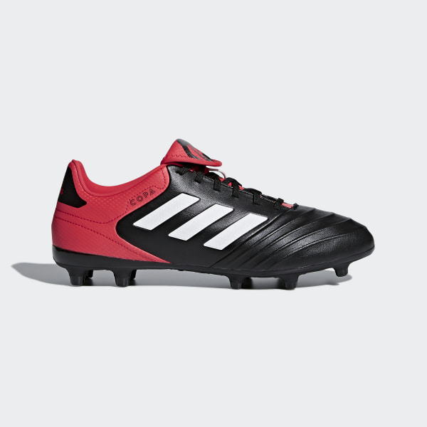 new concept e0e92 0b099 Copa 18.3 Firm Ground Boots Core BlackFtwr WhiteReal Coral CP8957