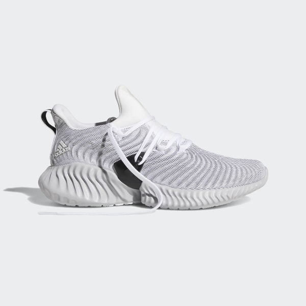 5e4ee3a079edd Alphabounce Instinct Shoes Cloud White   Grey Two   Core Black CG5590