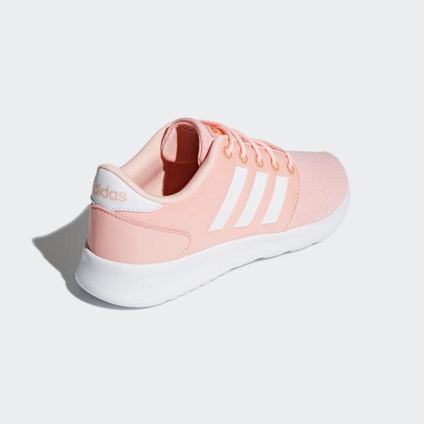 Cloudfoam QT Racer Shoes Haze Coral   Cloud White   Hi-Res Orange DB0270 00e0f1220