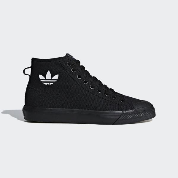 new arrival 3d4fc baebc Nizza High Top Shoes Core Black  Core Black  Cloud White B41651