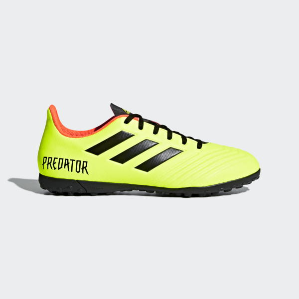 fc6d7c70cb65e Chuteira Predator Tango 18.4 Society SOLAR YELLOW CORE BLACK SOLAR RED  DB2141