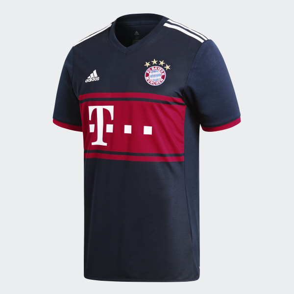 FC Bayern Munich Away Jersey Collegiate Navy   Fcb True Red AZ7937 319b05715