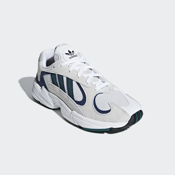 6df24116418 Yung-1 Shoes Cloud White   Noble Green   Blue G27031