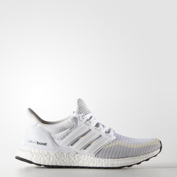 8813118fc932b UltraBoost Shoes Cloud White   Clear Grey   Core Black AF5142
