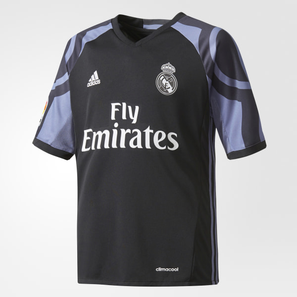 Camiseta Tercer Uniforme Real Madrid BLACK SUPER PURPLE AI5143 d9445ebccf76f