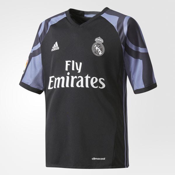 Jersey del Tercer Uniforme del Real Madrid. BLACK SUPER PURPLE AI5143 6ecf07c8614d6