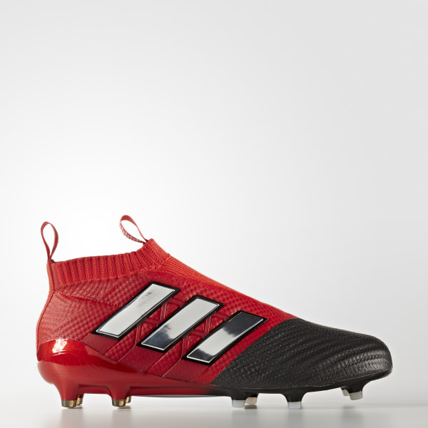 buy online 6bdb5 119c4 Zapatos de Fútbol ACE 17+ Purecontrol Terreno Firme RED FTWR WHITE CORE  BLACK
