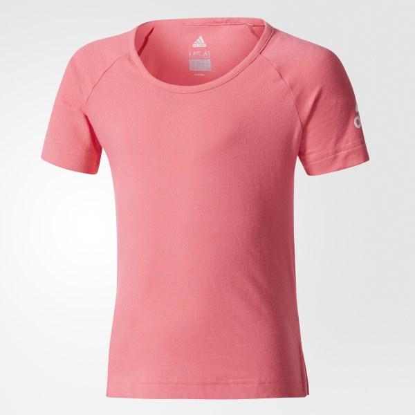 huge discount 91884 c637a adidas Playera Cotton - Rosa   adidas Mexico