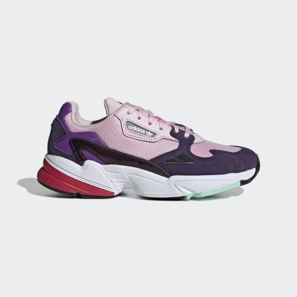 quality design 5d470 18c16 Falcon sko Clear Pink  Clear Pink  Legend Purple BD7825