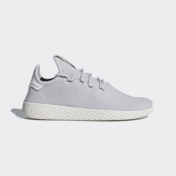 Pharrell Williams Tennis Hu Shoes Light Solid Grey   Light Solid Grey    Chalk White DB2553 37edefee6355