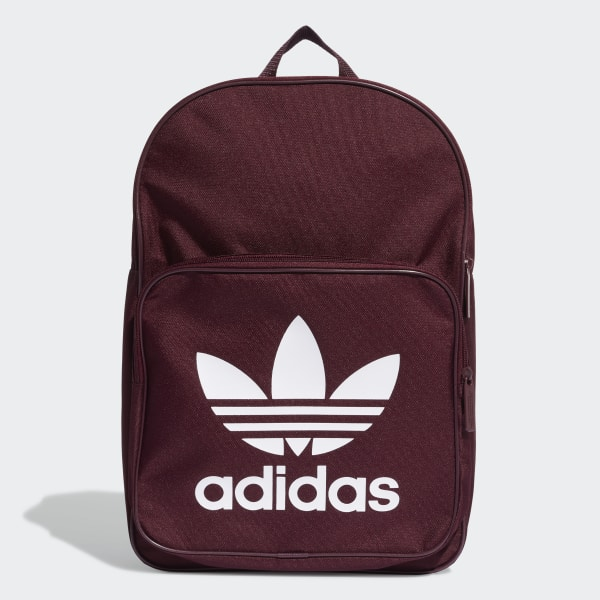 adidas Trefoil Backpack - Red  3cc4feebada18