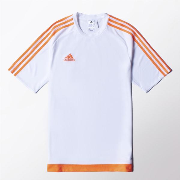 5dfcbad6a7 Camisa Estro 15 WHITE SOLAR ORANGE S16167