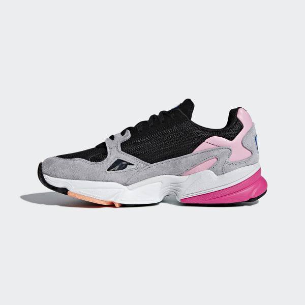 quality design 23213 f3652 Falcon Shoes Core Black  Core Black  Light Granite BB9173