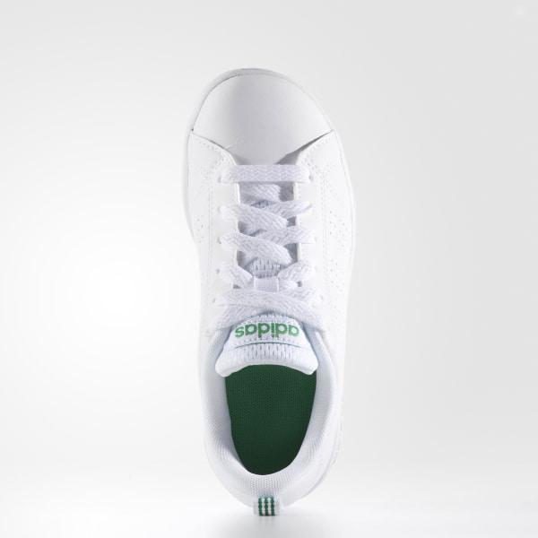 wholesale dealer e3682 18017 Scarpe VS Advantage Clean WhiteWhiteGreen AW4884