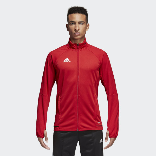 Adidas Tiro 17 Training Jacket Red Adidas Canada