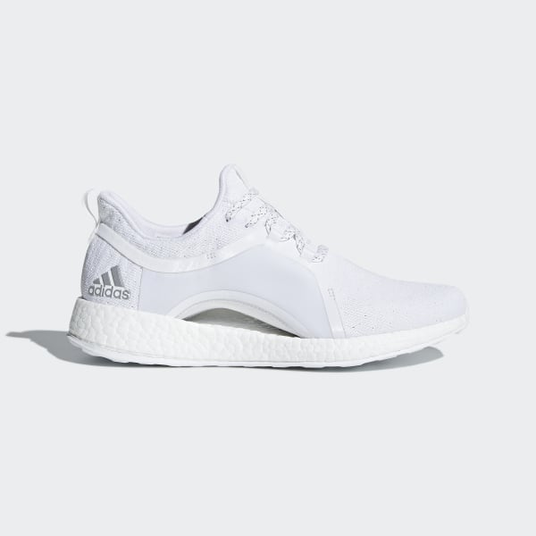 Pureboost X Skor Ftwr White Silver Metallic Core Black BY8926. Visa din  stil.  adidas d476de18fc391