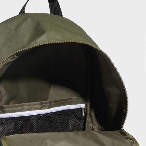 64c445f64dd2 Classic Urban Backpack Green   Black   White DT2606
