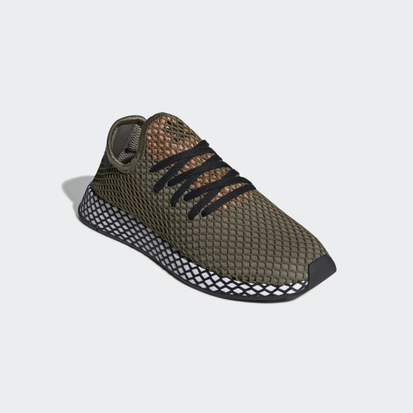 uk availability 77176 8cf67 Deerupt Runner Shoes Raw Khaki  Core Black  Easy Orange BD7894