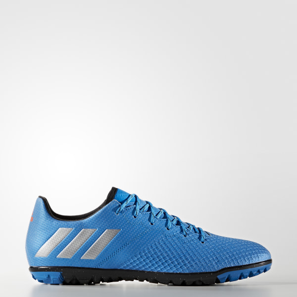 Chuteira Messi 16.3 - Society SHOCK BLUE MATTE SILVER CORE BLACK S79641 d563afd37f3d1