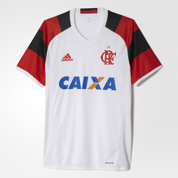 8b1da9143e Camisa CR Flamengo 2 - Branco adidas